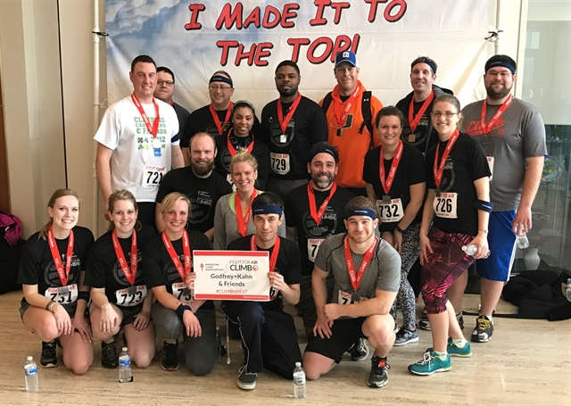 Godfrey & Kahn Air Climb Team